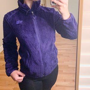 Rare Deep Purple North Face Fleece Jacket